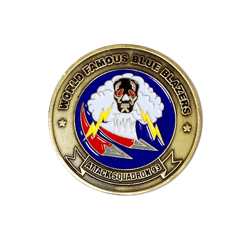 Custom Challenge Coins, Personalized Mint Custom Coins - PinSource